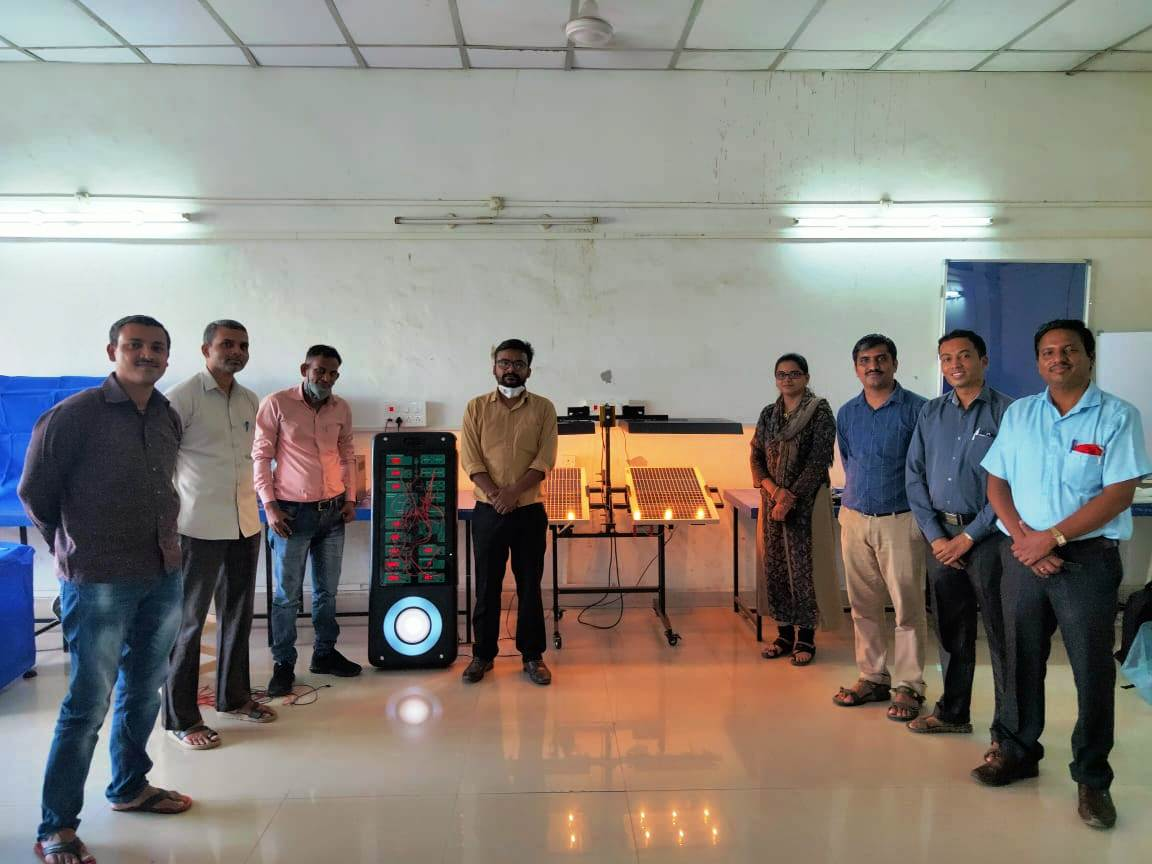 Masters Training at DKTE, Kolhapur