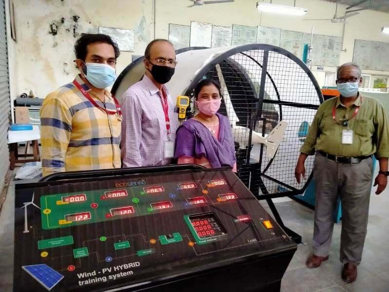 Master's Training at CBIT, Hyderabad