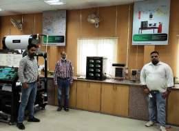 Ecosense established a Renewable Energy Lab at DTU, Delhi