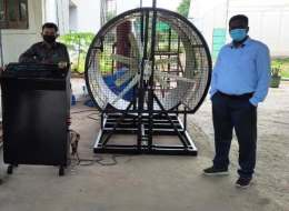 Solar Thermal & Wind Energy Lab Installation at College of Agriculture Engineering and Technology, Godhra, Gujarat