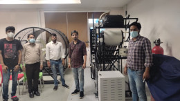 IIT Jammu welcomes Wind Energy Training System and ETC Characterisation System by Ecosense