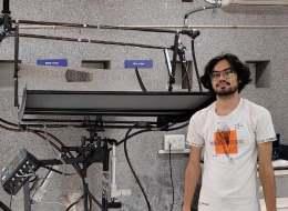 Ecosense installs Solar Parabolic Trough Collector System at IITRAM, Ahmedabad