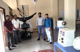 Ecosense Installs Solar Concentrator Training System at JNGEC, Mandi