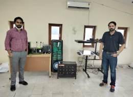 R&D Department-III at Sardar Swaran Singh National Institute of Renewable Energy welcomes, Ecosense's PV Lab