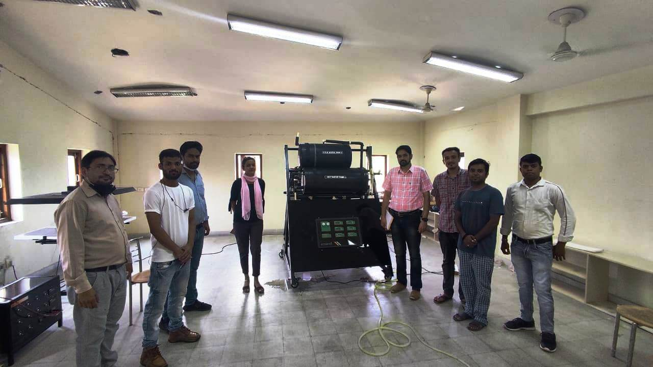 R&D Department – III at Sardar Swaran Singh National Institute of Renewable Energy Welcomes Ecosense's Thermal Lab