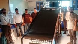 Ecosense install Solar Thermal Lab at Shiv Nadar University, Greater Noida