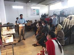 Ecosense established a Solar PV and Solar Thermal Lab at Jabalpur Engineering College