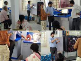 Ecosense installed RE Based Smart Energy Management System at Madhav Institute of Technology and Science, Gwalior