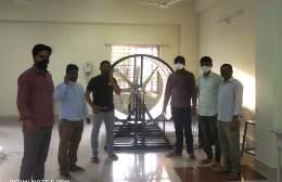 Ecosense Installs Wind Energy Training System at Department of Electrical Engineering, Rajiv Gandhi University of Knowledge and Technology, Basar, Telangana